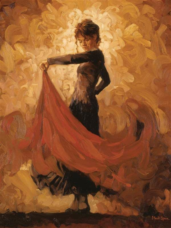 Flamenco Dancer Flamenco I